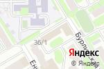Схема проезда до компании Умные устройства в Новосибирске