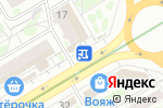 Схема проезда до компании Абаканские полуфабрикаты в Новосибирске