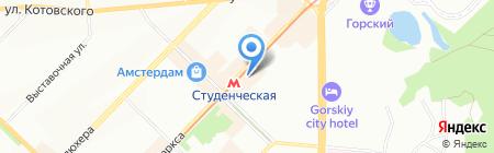 НовоКомСтрой на карте Новосибирска