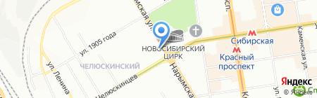 Традиции мастеров на карте Новосибирска