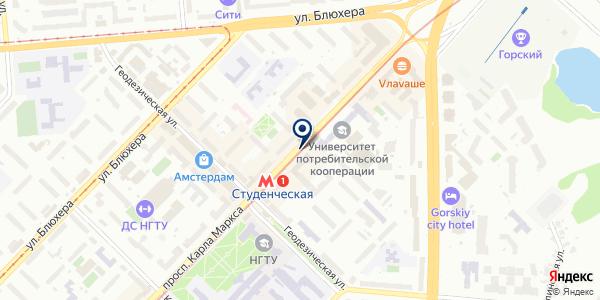 Фотомиг на карте Новосибирске