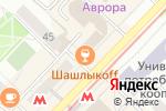 Схема проезда до компании COWTAINER в Новосибирске