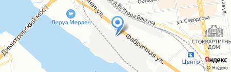Фуршет на карте Новосибирска