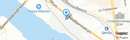 СИБСЕРВИС на карте Новосибирска