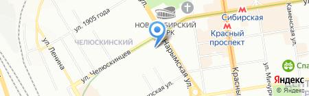 Privat на карте Новосибирска