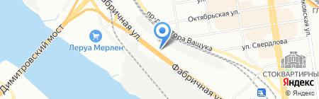 Гидромаш на карте Новосибирска