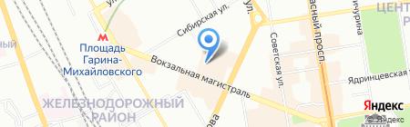 Детский сад №429 Теремок на карте Новосибирска