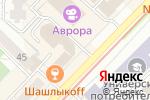 Схема проезда до компании Стопдолг в Новосибирске