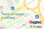 Схема проезда до компании Дефини в Новосибирске