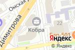 Схема проезда до компании 1RA BTL в Новосибирске