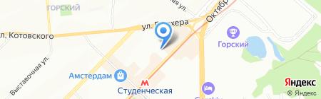 Всё для дизайна ногтей на карте Новосибирска