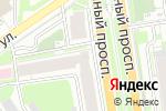 Схема проезда до компании ЮНИСТРИМ в Новосибирске