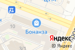 Схема проезда до компании Азимут Оптика в Новосибирске