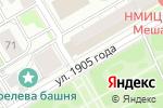 Схема проезда до компании Skipass в Новосибирске