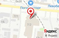Схема проезда до компании Авангард в Новосибирске