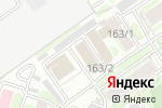 Схема проезда до компании China-конфета в Новосибирске