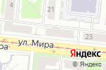 Схема проезда до компании ЛЮДИ МИРА в Новосибирске