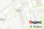Схема проезда до компании Белтел в Новосибирске