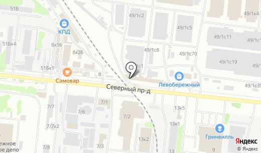 ПОГОНАЖТОРГ. Схема проезда в Новосибирске