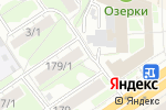 Схема проезда до компании Полипром в Новосибирске