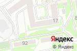 Схема проезда до компании АСТЕКС в Новосибирске
