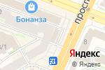 Схема проезда до компании МОЙ ГЕН в Новосибирске