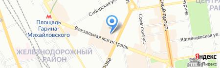 АТИСМОДА на карте Новосибирска