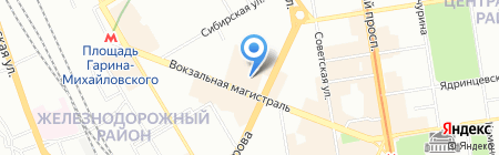 Мир Чудес на карте Новосибирска