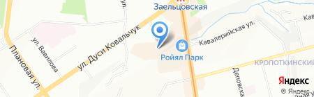 Умный совет на карте Новосибирска