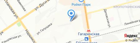 КОТЭС на карте Новосибирска