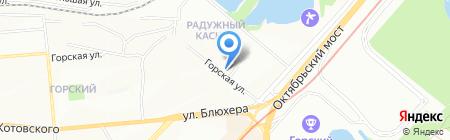 Ваш Сервис Мастер на карте Новосибирска
