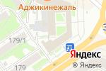 Схема проезда до компании Uni-Smile в Новосибирске
