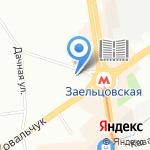 Студия креатива на карте Новосибирска