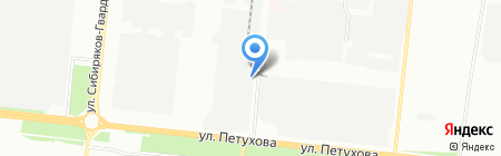СТЦ+ на карте Новосибирска