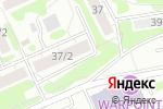 Схема проезда до компании Blond в Новосибирске