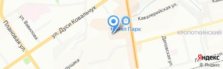 Магазин связи на карте Новосибирска