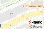 Схема проезда до компании Бизнес Класс в Новосибирске