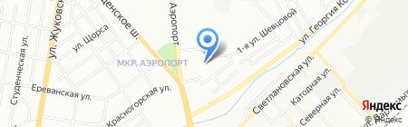 Универсам удачных покупок на карте Новосибирска