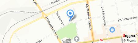 Правовой статус на карте Новосибирска