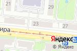 Схема проезда до компании Comepay в Новосибирске