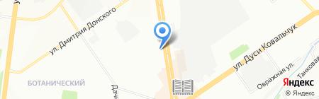 Парадиз Плюс на карте Новосибирска