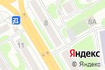 Схема проезда до компании Универсам удачных покупок в Новосибирске