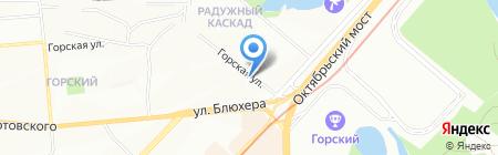 Бест Тейп на карте Новосибирска