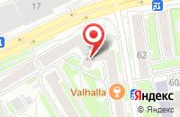 Схема проезда до компании Спейс  в Новосибирске