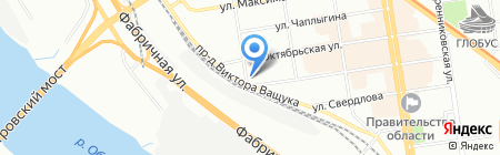 ИНТЭК на карте Новосибирска