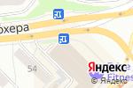 Схема проезда до компании Школа+ в Новосибирске