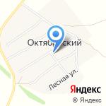 Фельдшерско-акушерский пункт на карте Октябрьского