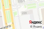 Схема проезда до компании Красный 220 в Новосибирске