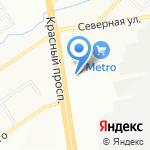 Студия Красоты на карте Новосибирска