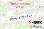 Схема проезда до компании Кабинет маникюра и педикюра в Новосибирске